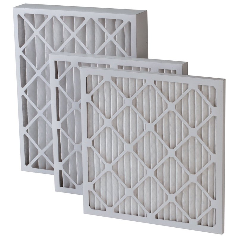 2 inches pleated air filters